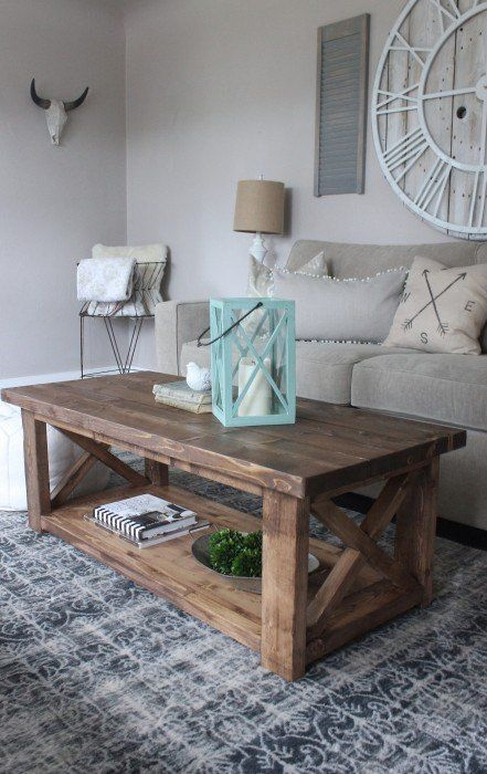 Excellent Unique Rustic Wood DIY Coffee Tables Throughout Best 25 Rustic Coffee Tables Ideas On Pinterest House Furniture (Image 17 of 50)