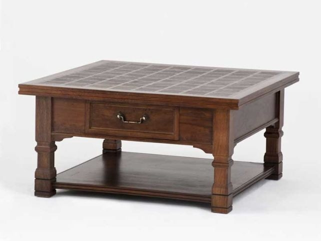 Excellent Unique Small Coffee Tables With Drawer Regarding Beneficial Square Coffee Table Storage (Image 19 of 50)