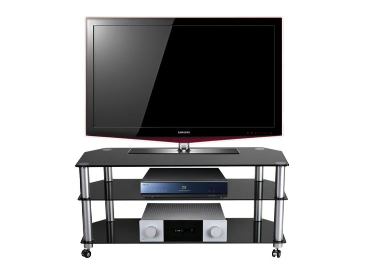 Excellent Unique Stil TV Stands With Regard To 61 Best Black Glass Tv Stands Images On Pinterest Cable (View 5 of 49)