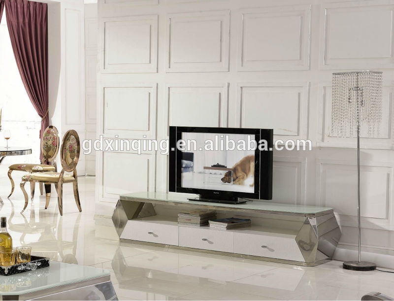 Excellent Unique Stylish TV Stands For Simplestylishpersonalized Design Glass Tv Stand E371 Buy (View 32 of 50)