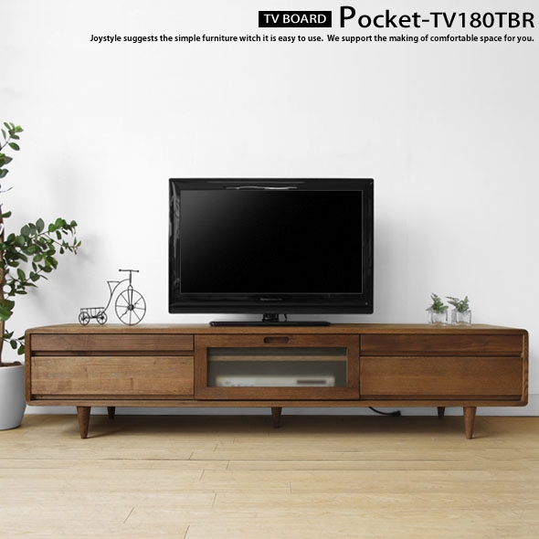 Excellent Unique TV Stands Rounded Corners Regarding Joystyle Interior Rakuten Global Market Width 180 Cm Ash Wood (Image 16 of 50)