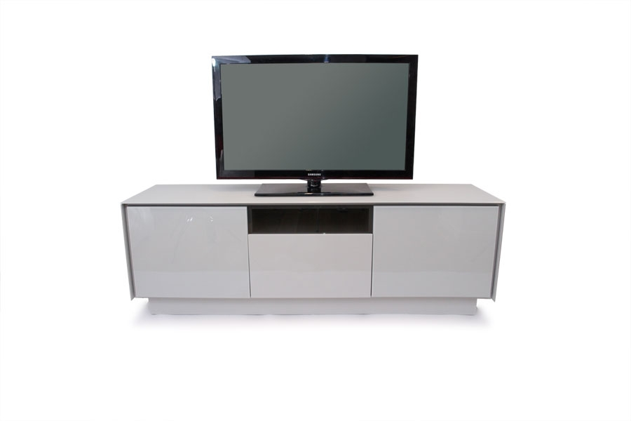 Excellent Unique White Glass TV Stands Within Grey Glass Tv Stand (Image 21 of 50)