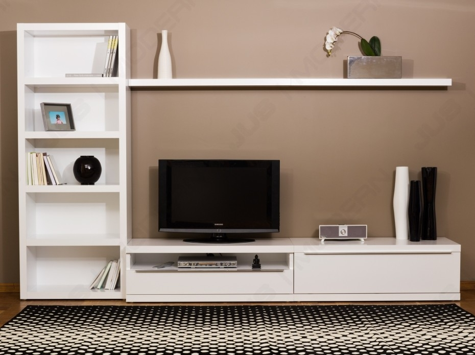 Excellent Unique White Wall Mounted TV Stands Pertaining To Living Room Tv Stand (Image 17 of 50)