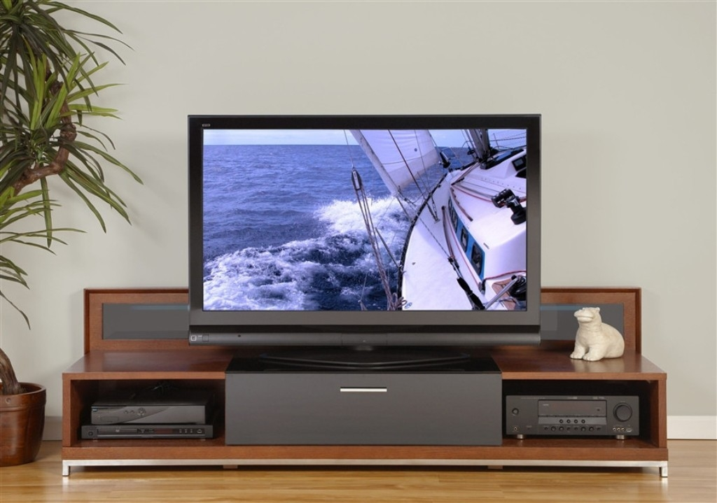 Excellent Unique Wide Screen TV Stands In Tv Stands Flat Screen Tv Stand On Wheels Ideas Large Brown (Image 13 of 50)