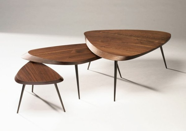 Excellent Unique Wood Modern Coffee Tables Inside Coffee Table Solid Wood Models Of Living Room Tables In Wood (Image 13 of 50)