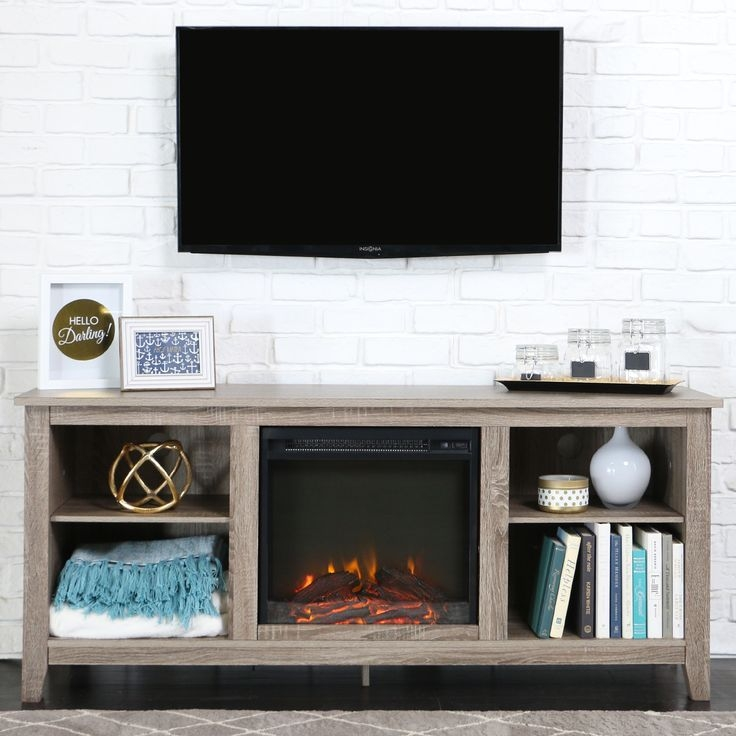 Excellent Variety Of Big TV Stands Furniture With Regard To Best 25 Tv Stand With Fireplace Ideas On Pinterest (Image 17 of 50)