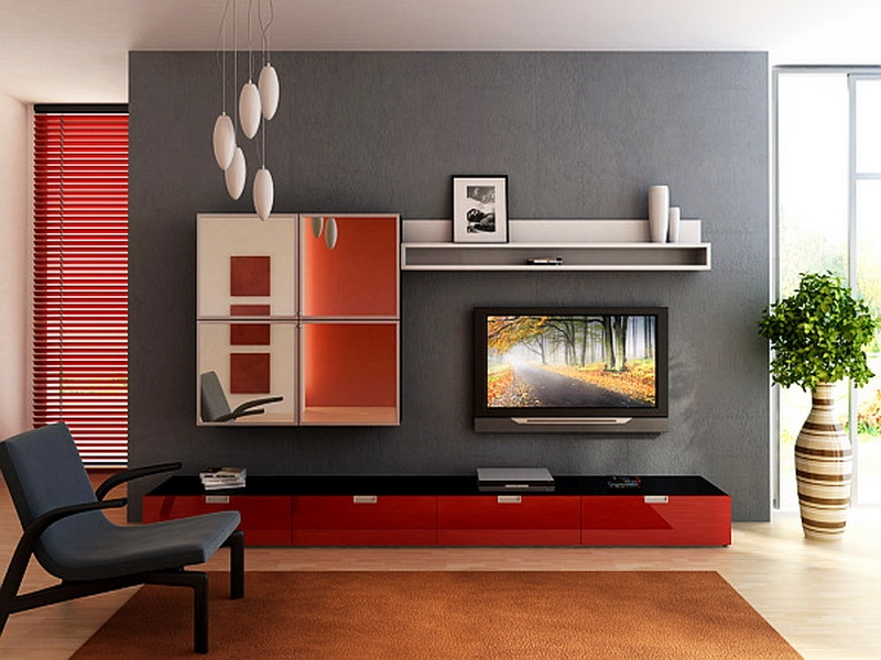 Excellent Variety Of Black And Red TV Stands Within Tv Stands Modern Wood Tv Stand Living Spaces White Tv Console  (Image 18 of 50)