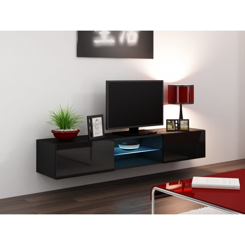 Excellent Variety Of Black TV Cabinets Within Seattle 43 Tv Stands Concept Muebles (Image 14 of 50)
