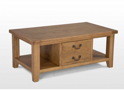 Excellent Variety Of Bordeaux Coffee Tables With One Drawer Oak Coffee Table Bordeaux (Image 21 of 50)