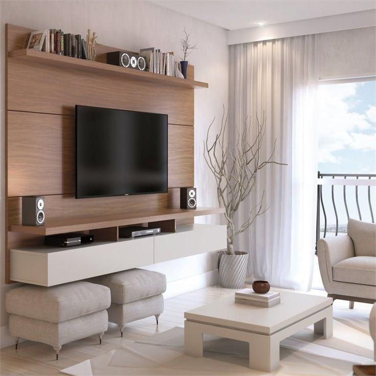 Excellent Variety Of Cream Color TV Stands Throughout Best 25 Tv Panel Ideas Only On Pinterest Tv Walls Tv Units And (Image 23 of 50)
