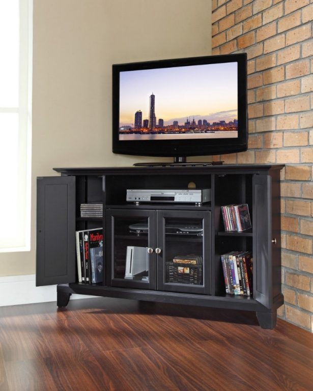 Excellent Variety Of Cream Corner TV Stands Pertaining To Simple Corner Tv Stand Furniture Set Corner Tv Stand With Mount (Photo 38 of 50)