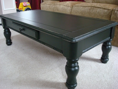 Excellent Variety Of Dark Coffee Tables Throughout Transforming A Goodwill Coffee Table From Thrifty Decor Chick (Image 21 of 50)