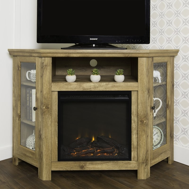 Excellent Variety Of Enclosed TV Cabinets For Flat Screens With Doors Within Tv Stands Joss Main (Image 17 of 50)