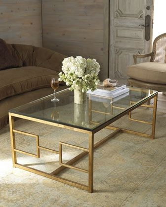 Featured Image of Glass Gold Coffee Tables