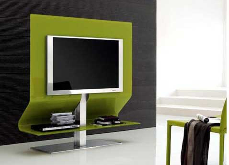Excellent Variety Of Green TV Stands Within Tv Stands Outstanding Swivel Tv Stands For Flat Screens  (Image 17 of 50)