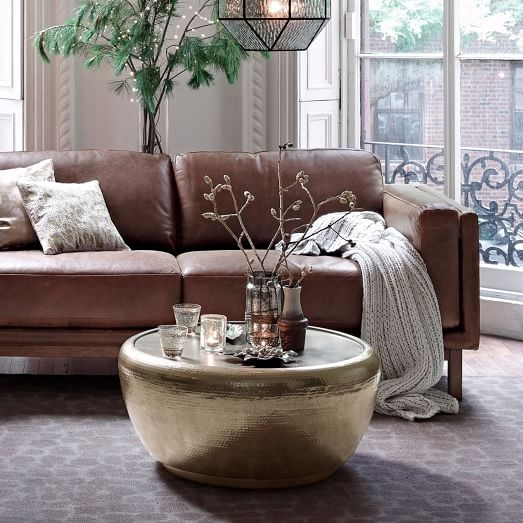 50 Best Collection Of Hammered Silver Coffee Tables