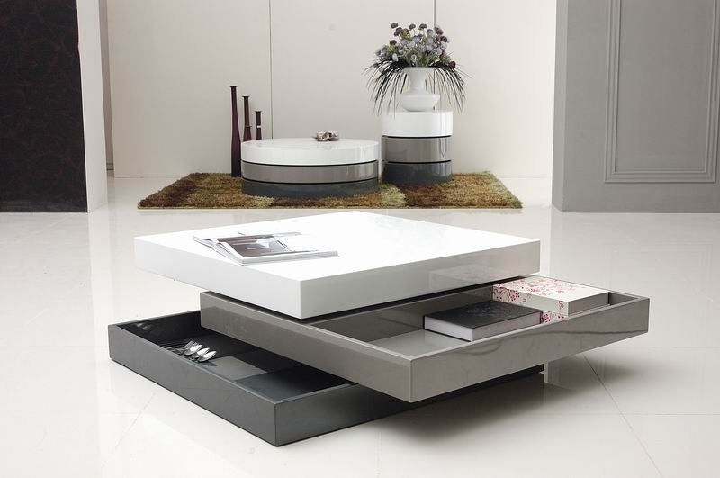Excellent Variety Of Lacquer Coffee Tables Pertaining To Latest Design Modern Coffee Table Furniture For Your Living Room (Image 16 of 40)