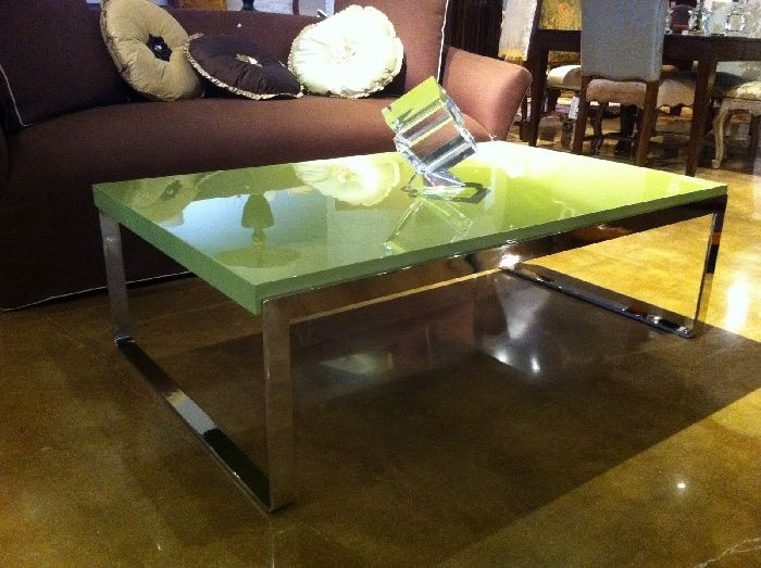 Excellent Variety Of Lacquer Coffee Tables With Regard To Lime Green Lacquer Coffee Table (Image 17 of 40)