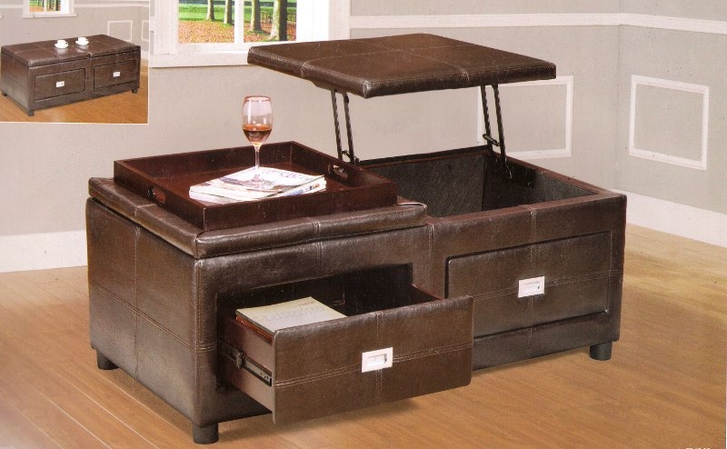 coffee table lift coffee tables 14 of 50 photos. Black Bedroom Furniture Sets. Home Design Ideas