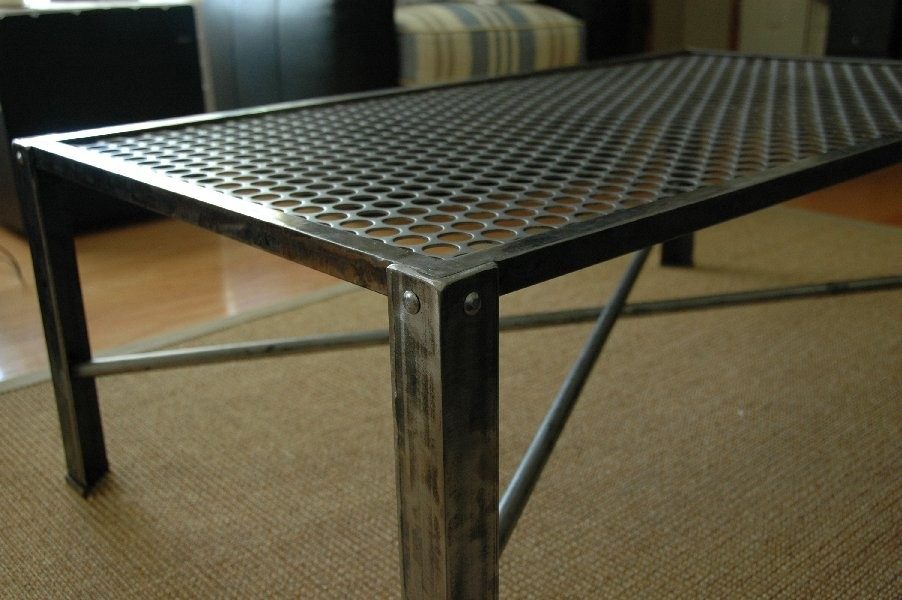 Excellent Variety Of Metal Coffee Tables With Glass Top Regarding Coffee Table Best Metal Coffee Table Frame Metal End Tables For (Image 17 of 50)
