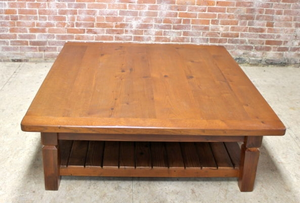 Excellent Variety Of Oak Coffee Table With Shelf With Regard To Farmhouse Coffee Tables (Image 15 of 50)