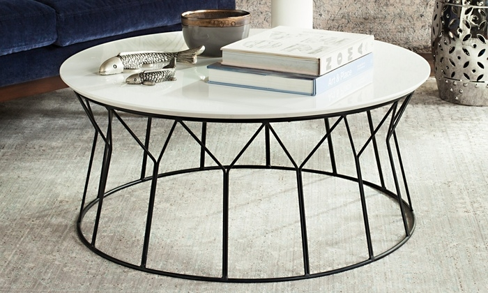 Excellent Variety Of Safavieh Coffee Tables In Safavieh Deion Coffee Table Groupon Goods (Image 18 of 50)