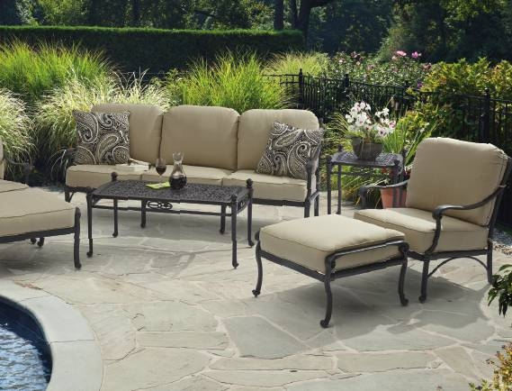 Excellent Variety Of Verona Coffee Tables Within 4770230 Verona Cast Aluminum Patio Furniture Patio Furniture (Image 20 of 50)