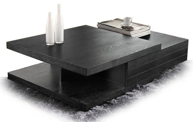 Excellent Variety Of White And Black Coffee Tables Inside Plain Black Coffee Table With Storage Drawers Decoration Ideas For (Image 16 of 40)