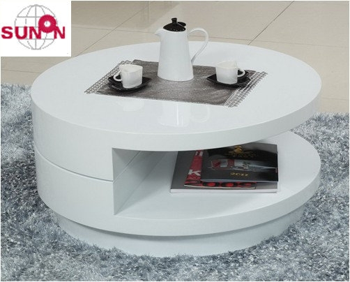 Excellent Variety Of White Circle Coffee Tables For White Round Coffee Table (Image 13 of 50)