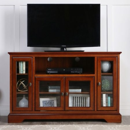 Excellent Variety Of Wooden TV Stands For 55 Inch Flat Screen Throughout 6 Tips For Buying A Great Tv Stand For Your Home Overstock (View 28 of 50)