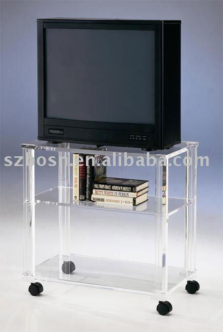 Excellent Well Known Acrylic TV Stands Throughout Acrylic Tv Stands Acrylic Tv Stands Suppliers And Manufacturers (Image 14 of 50)