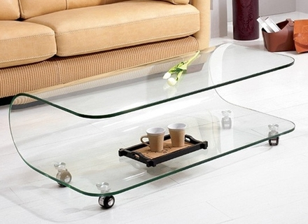 Excellent Well Known All Glass Coffee Tables Regarding All Glass Coffee Table Jerichomafjarproject (Image 15 of 50)