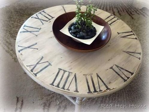 Excellent Wellknown Clock Coffee Tables Round Shaped Pertaining To Best 20 Clock Table Ideas On Pinterest Small Round Side Table (Image 12 of 50)