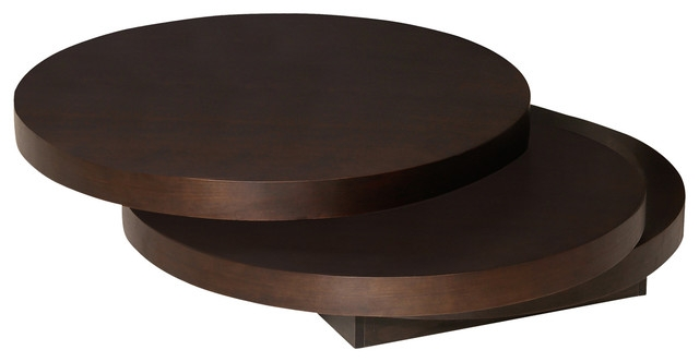 Excellent Wellknown Dark Brown Coffee Tables For Torno Coffee Table Modern Coffee Tables Moes Home Collection (View 5 of 50)