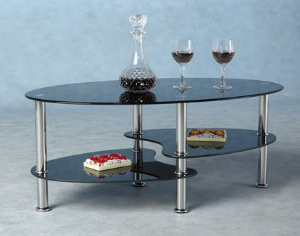 Excellent Well Known Dark Glass Coffee Tables Within Glass Coffee Tables Accent Tables Unique Modern Glass Coffee (Image 19 of 50)