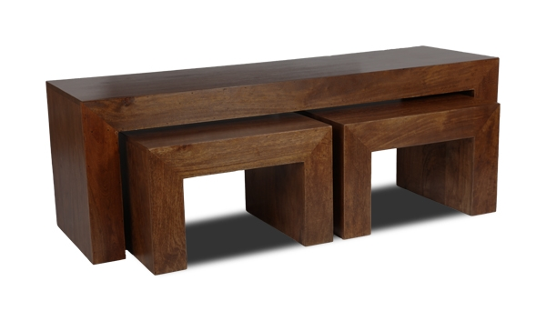 Excellent Wellknown Dark Mango Coffee Tables With Regard To Dakota Long John Coffee Table Trade Furniture Company (Image 11 of 40)