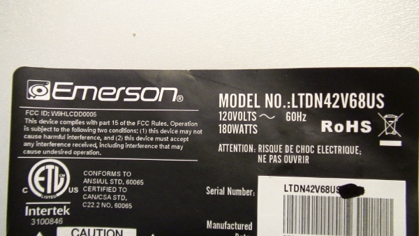Excellent Wellknown Emerson TV Stands In Hdtv Repair Sale Lz404200l Tv Stands Tv Base Emerson Stands (View 10 of 50)