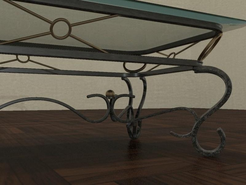 Excellent Wellknown Glass And Metal Coffee Tables Intended For Glass And Metal Coffee Table (View 32 of 50)