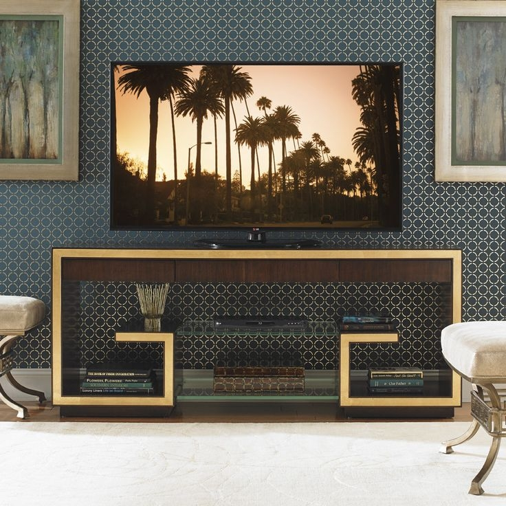 Excellent Well Known Gold TV Stands With Top 25 Best Glass Tv Stand Ideas On Pinterest Lcd Tv Stand (Image 18 of 50)
