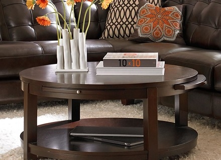 Excellent Wellknown High Coffee Tables With Wood Circle Coffee Table Jerichomafjarproject (Image 17 of 50)