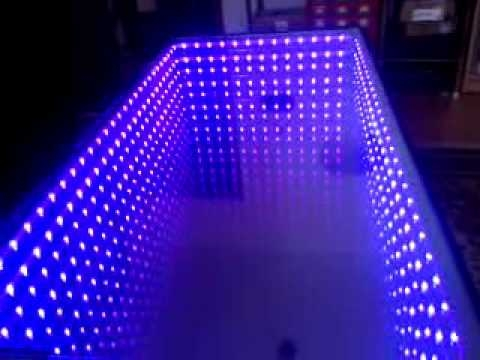 Excellent Well Known Led Coffee Tables For Infinity Coffee Table Youtube (Image 17 of 50)