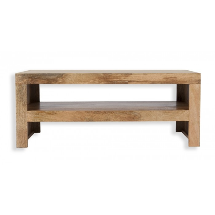 Excellent Well Known Mango Wood TV Stands With Cube Petite Mango Coffee Table Tv Stand Edinburgh Furnishing Store (Image 17 of 50)
