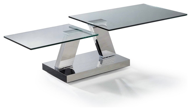 Excellent Wellknown Modern Glass Coffee Tables Within Modern Glass Coffee Tables (View 5 of 50)