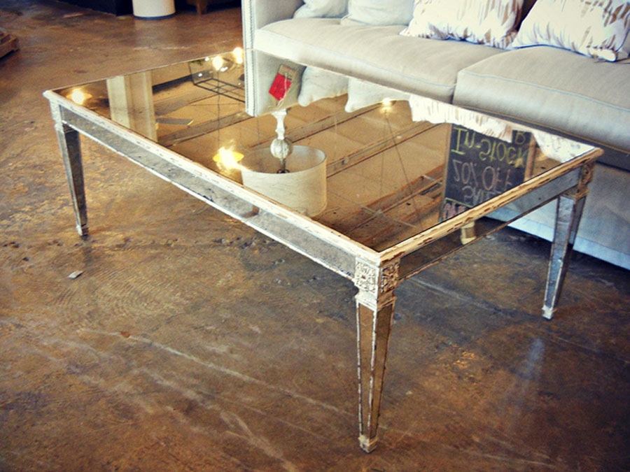 Excellent Well Known Oval Mirrored Coffee Tables Intended For Oval Mirrored Coffee Table (Image 21 of 50)