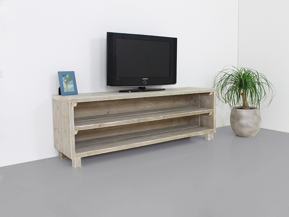 Excellent Wellknown Pine Wood TV Stands Within Custom Made Tv Stand Utah Solid Furn (Image 14 of 50)