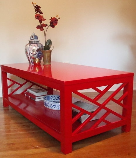 Excellent Wellknown Red Coffee Table With 25 Best Red Coffee Tables Ideas On Pinterest Yellow Coffee (Image 17 of 50)
