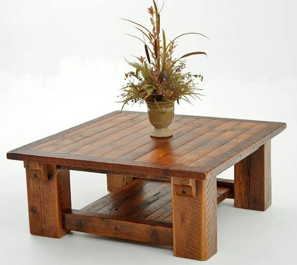Excellent Wellknown Small Wood Coffee Tables Throughout Best 20 Rustic Outdoor Coffee Tables Ideas On Pinterest (Image 17 of 50)