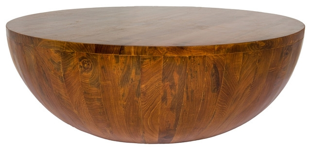 Excellent Well Known Solid Round Coffee Tables Pertaining To Enchanting Round Coffee Table Wood Best Ideas About Solid Wood (Image 11 of 40)