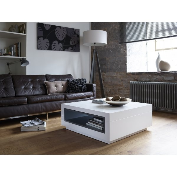 Excellent Well Known Square White Coffee Tables In Coffee Table Interior Design With White Square Coffee Table White (View 22 of 50)