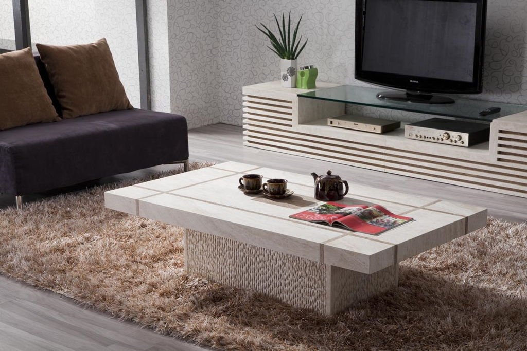 Excellent Wellknown Tv Stand Coffee Table Sets For Marble Living Room Table Set (Image 18 of 50)